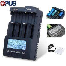 شارژر باتری 4 شیار هوشمند Opus مدل BT-C3100